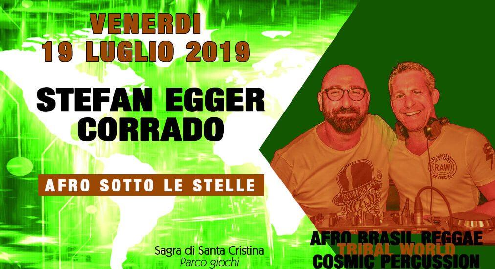 Stefan Egger e Corrado - Afro sotto le stelle